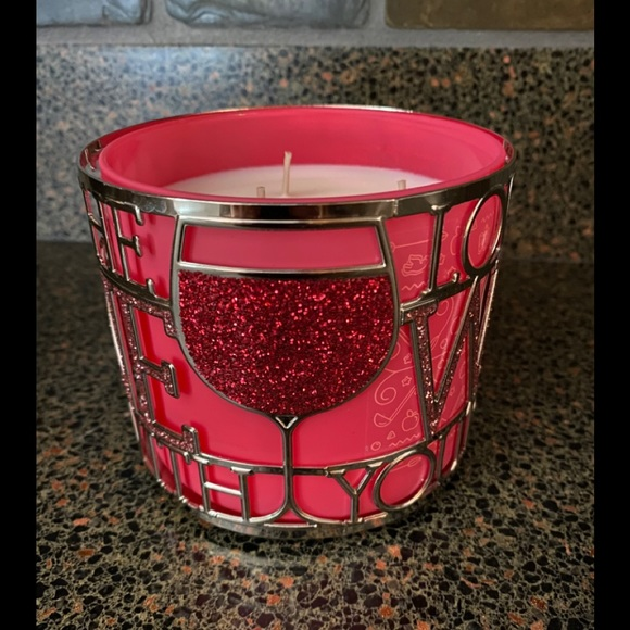 🍷 Love The Wine You're With 3-Wick Candle Holder